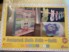 30 Pieces Mixed Color Assorted Soft Felt Sheets 9X12 Diy Craft Patchwork