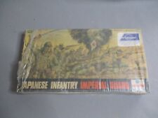 AH914 ESCI WWII JAPANESE INFANTRY IMPERIAL GUARD 8061 1/72 DIORAMA MAQUETTE