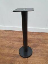 More details for new heavy duty bolt down steel pedestal dining table base bar restaurant bistro