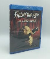 Friday the 13th: The Final Chapter (Blu-ray Disc, 2017) NEW
