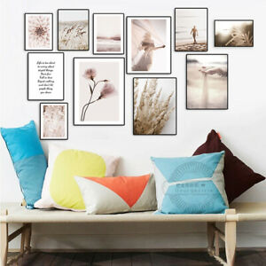 Nordic Modern Canvas Poster Print Painting Home Hangin Wall Art Picture Decor