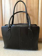 Radley Leather Work Bag in Dark Brown/Cocoa