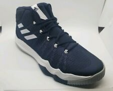 new product 5a7d9 36444 Mens Size 13.5 Adidas SM Crazy Hustle Shoes BY4308 Navy Blue White