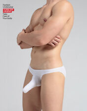 men's underwear GAY Modal's nose briefs Elephant Penis Pouch Boxers white XL