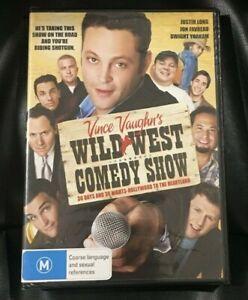 Wild West Comedy Show (2008 : 1 Disc DVD Set) Brand New Sealed Region 4