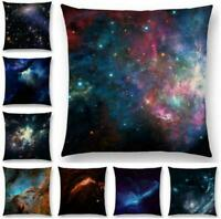 "Space Universe Cotton Linen Pillow Case Cushion Cover Waist Cover Decor 18""*18"""