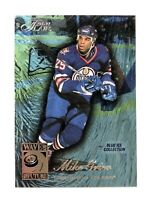 1996-97 FLAIR WAVE OF THE FUTURE BLUE ICE B110 MIKE GRIER RC ROOKIE 153/250 MINT