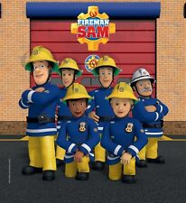 Fireman Sam Wall Stickers Diy Arts Vinyl Decor Home Bedroom Decal Mural 75X57cm