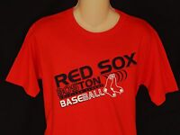 NEW Boston Red Sox MLB Baseball Short Sleeve T-Shirt Top BOY'S Size M XL