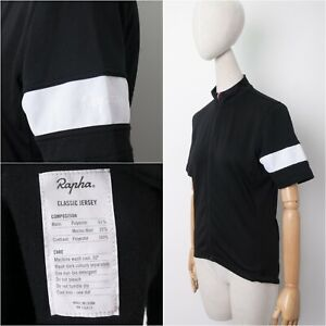 RAPHA Classic Jersey Womens Merino Wool size Medium Black
