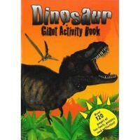 Gigante 120 Pagine Dinosauro Attività Libro Colorare Puzzle & Word Seach Pad