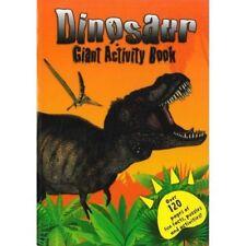 Géant 120 Pages Dinosaure Activité Livre Colorer Puzzles & Mot Cherchez Pad 2463