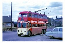 gw0431 - Huddersfield Trolleybus no 627 at Outlane in 1968 - photograph