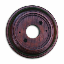 """Mahogany Plinth, Varnished and Weatherproof, for 100mm dia (4"""") Bell Pushes"""