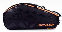 DUNLOP Elite 2 Comp Badminton Tennis Backpack Bag Black Racket Shuttlecock 1702