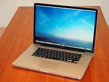 "Apple Macbook Pro 17"" Quad Core i7 + 16 GB RAM + 1 TB Solid State Drive +EXTRAS!"