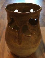 Unusual Penybont Welsh Studio Pottery Vase