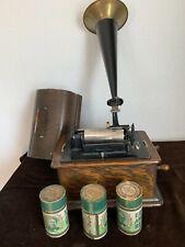 Edison Phonograph mit Walzen ( M 291 )