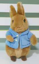 Peter Rabbit Plush Toy Beatrix Potter Book & Movie Character Toy 24cm Tall!
