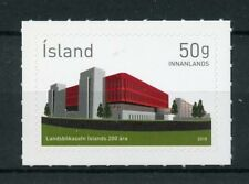 Iceland 2018 MNH National Library 200th Anniv 1v S/A Set Architecture Stamps