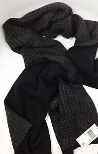Michael Kors 100% Wool Black Scarf MSRP: $115.00