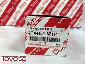 2009-2018 COROLLA Front Brake Pads Genuine Toyota Ceramic 04465-AZ114