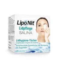 Lipo Nit Lidpflege SALINA Lidhygiene Tücher 20 St.