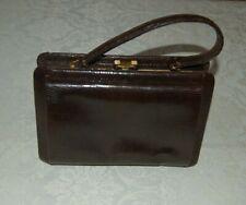 Borsa da donna in lucertola, vintage, anni 50, vedi misura, usata