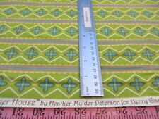Summer House by Heather Mulder Peterson Henry Glass Cotton Quilting Fabric Bty