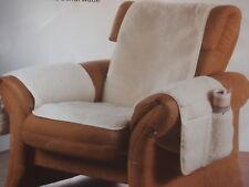 Sesselschoner Sesselauflage Sesselüberwurf mit Armlehnen kariert Karo Muster