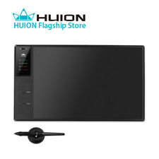 Huion WH1409 V2 Battery-free Pen 8192 Graphic Tablet Tilt Support 266PPS 12 Keys