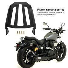 Motorcycle Iron Black Rear Luggage Rack W/ Screws For Yamaha  XVS950 -- 2017
