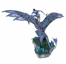 Disney Pandora Jake Sully Avatar Riding Banshee Large Figurine Statue In Hand