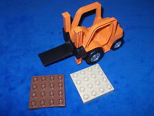 Lego Duplo Baustelle Eisenbahn Gabelstapler Orange Intelli aus 3326 5594 4685