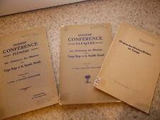 1932.Missions du congo belge et Ruanda.2/2 + plaquette..