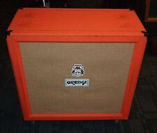 Orange PPC412 4x12 electric guitar cabinet cab in orange