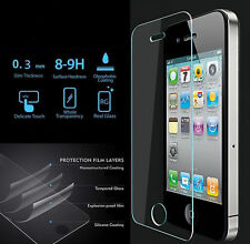 High Quality Tempered Glass Screen Protector for iPhone 5 5S 5C SE 4.0 inches
