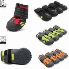 4 Pcs Pet Dog Shoes Puppy Cat Shoes Boots Waterproof Anti-Slip Paw Protector AU