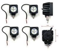4x Flutlicht 12W 3Wx4 LED Scheinwerfer Arbeitsscheinwerfer Off-road SUV Jeep 12V