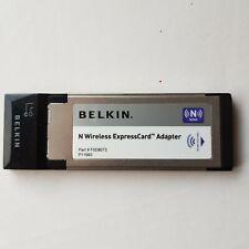 Belkin F5D8073 N wireless ExpressCard express card adapter