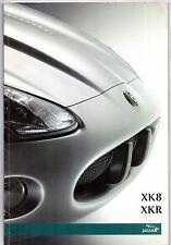 Jaguar XK Series 2002-03 UK Market Brochure XK8 4.2 V8 XKR Coupe Convertible