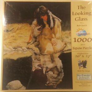 Stunning OOP SunsOut The Looking Glass By Bob Quick 1000 Piece Puzzle 60331