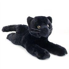 "TUG Douglas Cuddle Toy plush 13"" long BLACK stuffed animal CAT kitty (not pillow"