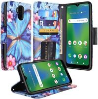 Cricket Influence/AT&T Maestro Plus Case Flip Fold Stand Wallet Case Cover