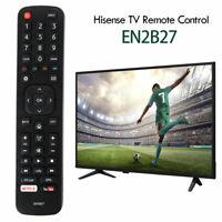 """Télécommande Hisense EN2B27 pr remplacement téléviseur LCD intelligent 40 """"43 LB"""
