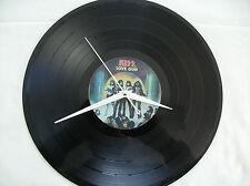 KISS  Love Gun Vinyl lp Wall Clock