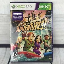 Kinect Adventures (Microsoft Xbox 360, 2010) Brand New Factory Sealed Game Only