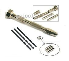 Scale Model Figures Craft 3x2mm Earth Magnets, Pin Vice & 3x 3mm HSS Drill Bits