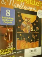 Cross Stitch & Needlework Magazine September 2012-Owl/Cottage/Deer Wood Scene/Ru