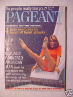 PAGEANT January 1968 Jan 68 SENTA BERGER WALTER MATTHAU +++